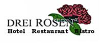 Logo von HOTEL DREI ROSEN OHG Inh. Regina Faßbinder & Hans-Peter Faßbinder